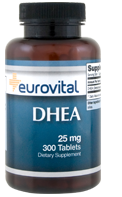 DHEA 25mg 300 Tablets (EV)